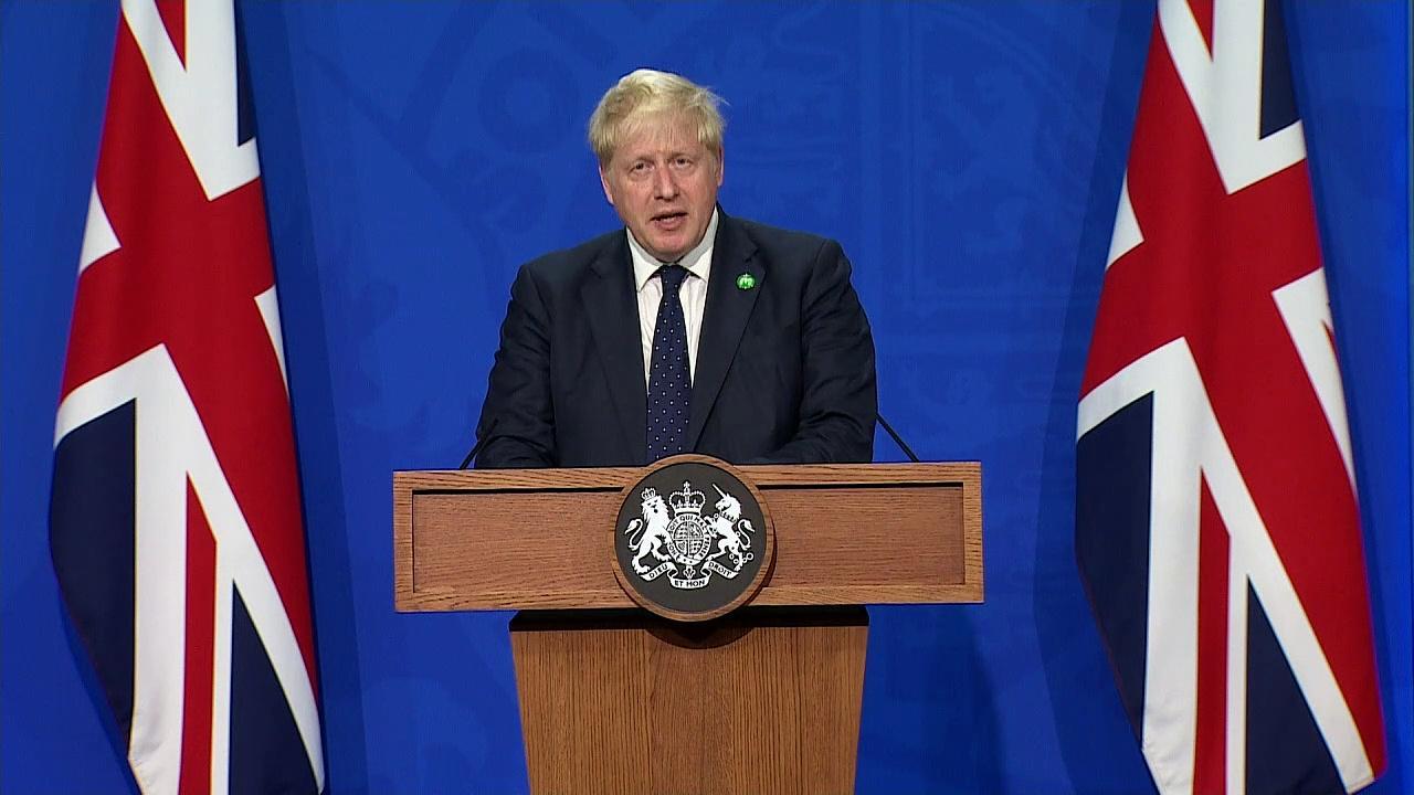 Johnson announces plan for funding social care