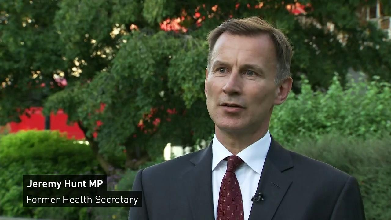 'Today is a good day for social care,' says Jeremy Hunt