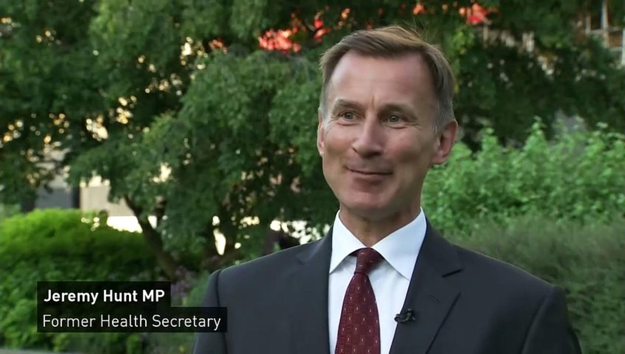 Hunt denies his social care support is a bid for Cabinet