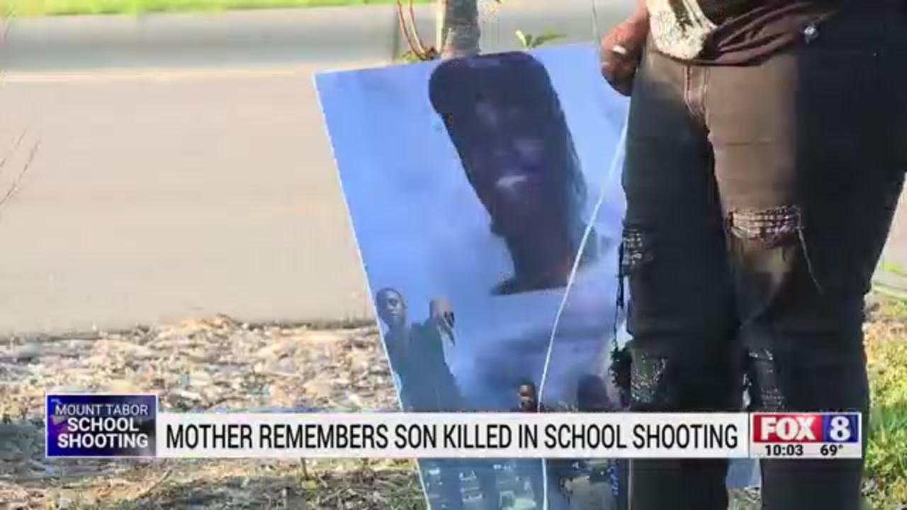 North Carolina mother shares heartbreak after losing son in school shooting