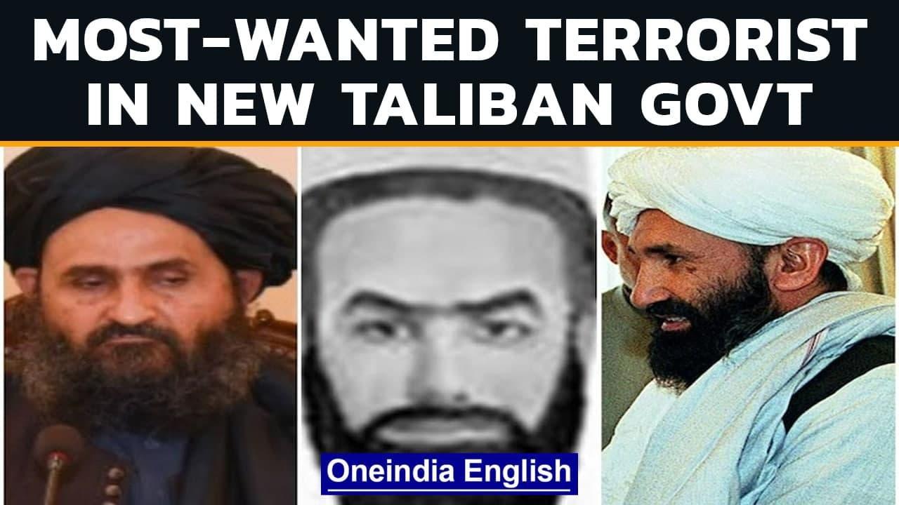 Taliban new govt's cabinet includes FBI most-wanted terrorist from Haqqani network | Oneindia News