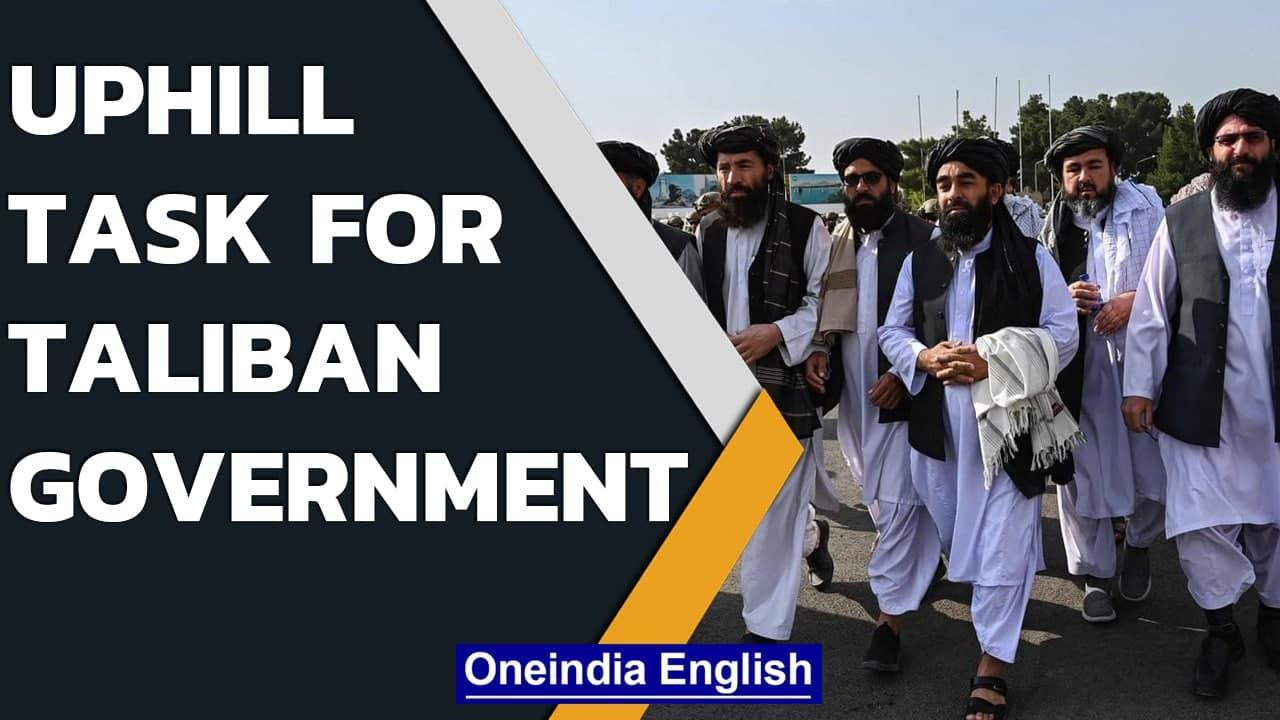 Taliban led new Afghan government has uphill task   Oneindia News
