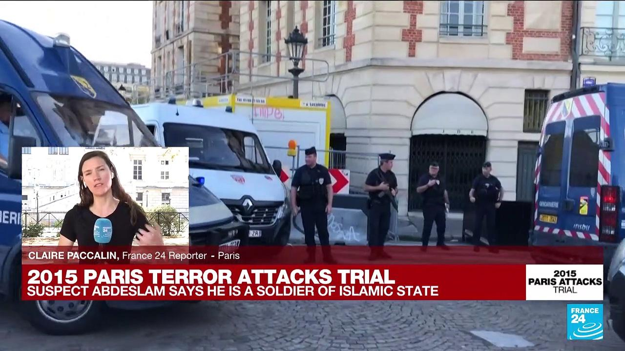 Paris attacks suspect tells trial he's 'an Islamic State soldier'