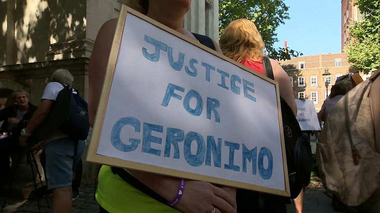 Geronimo owner wants 'everybody involved' in death be sacked