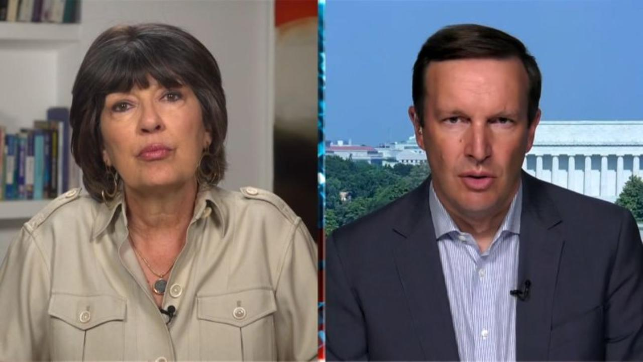 Amanpour presses Murphy on withdrawal: 'What is America's role in the world?'