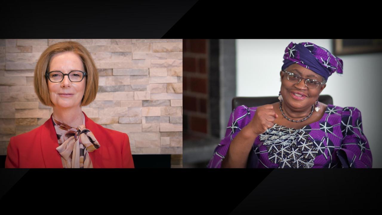 6 essential lessons for women leaders    Julia Gillard and Ngozi Okonjo-Iweala