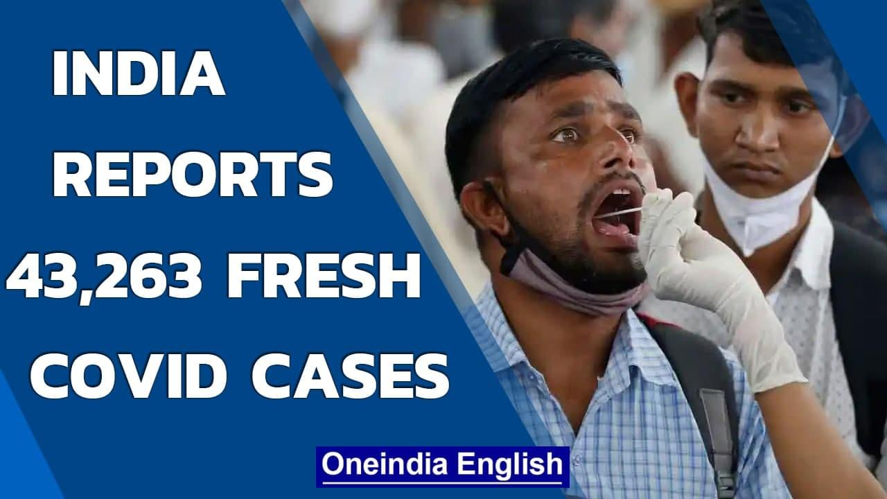 Covid Update: India reported 43,263 new cases in last 24 hours   Oneindia News