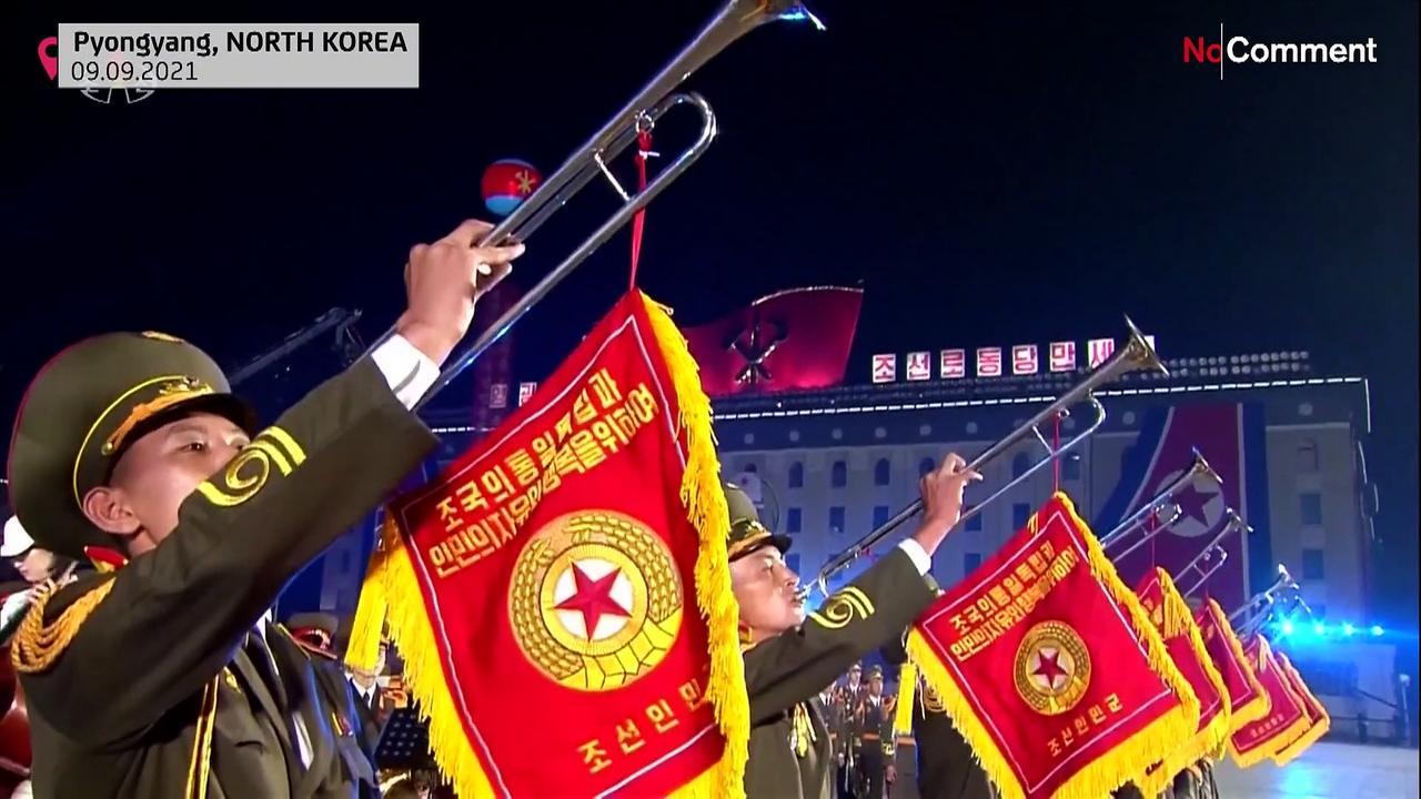 Parade in Pyongyang marks founding of NKorea