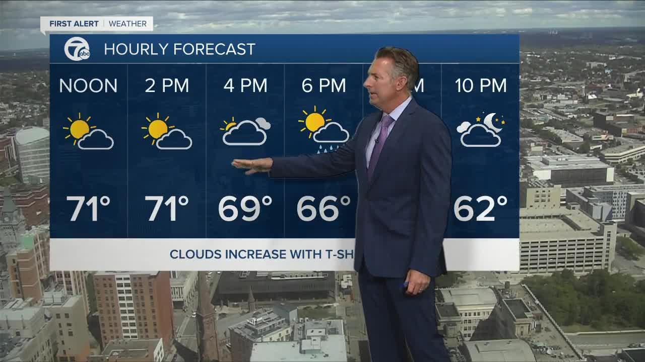 7 First Alert Forecast Noon Update, Thursday, September 9