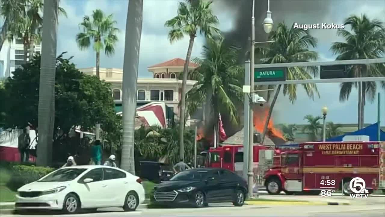Fire occurs a E.R. Bradley's restaurant in West Palm Beach