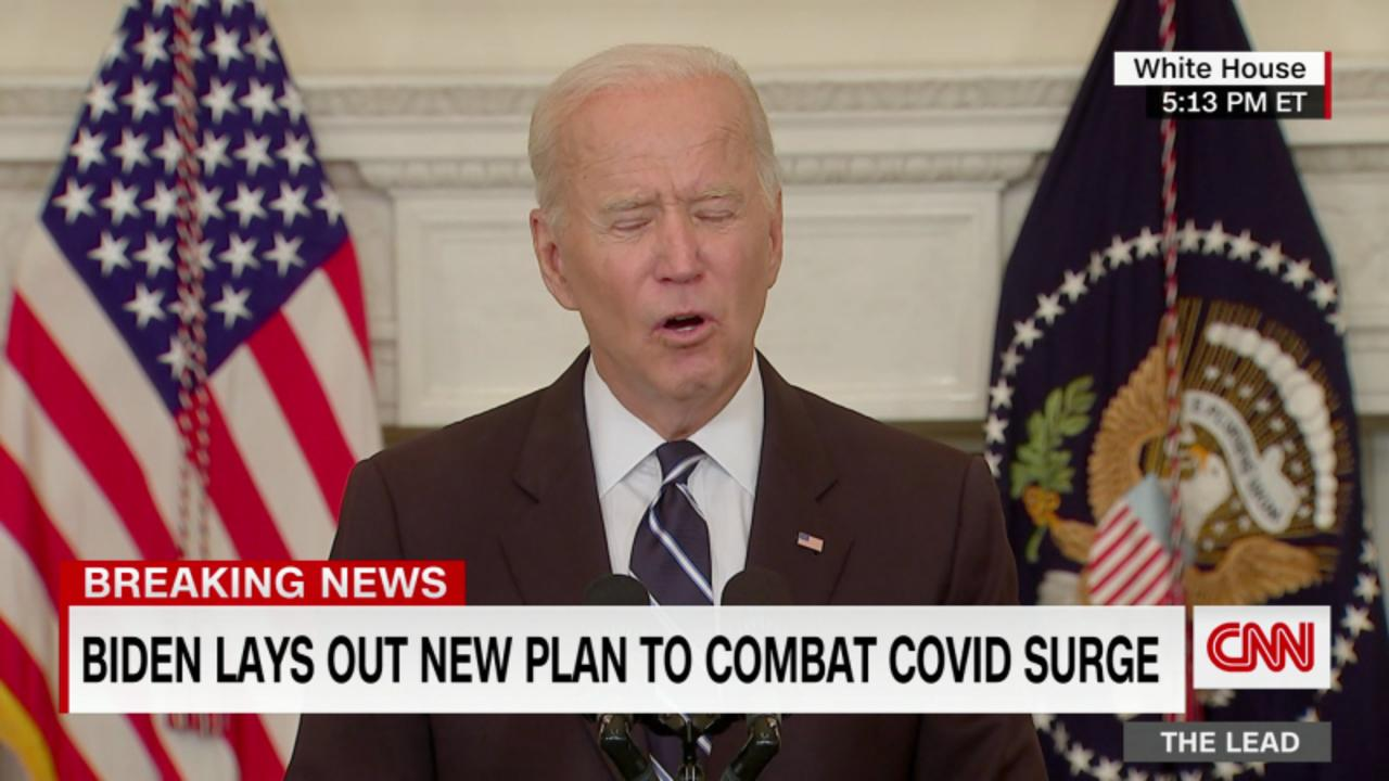 Biden to the unvaccinated: 'Our patience is wearing thin'