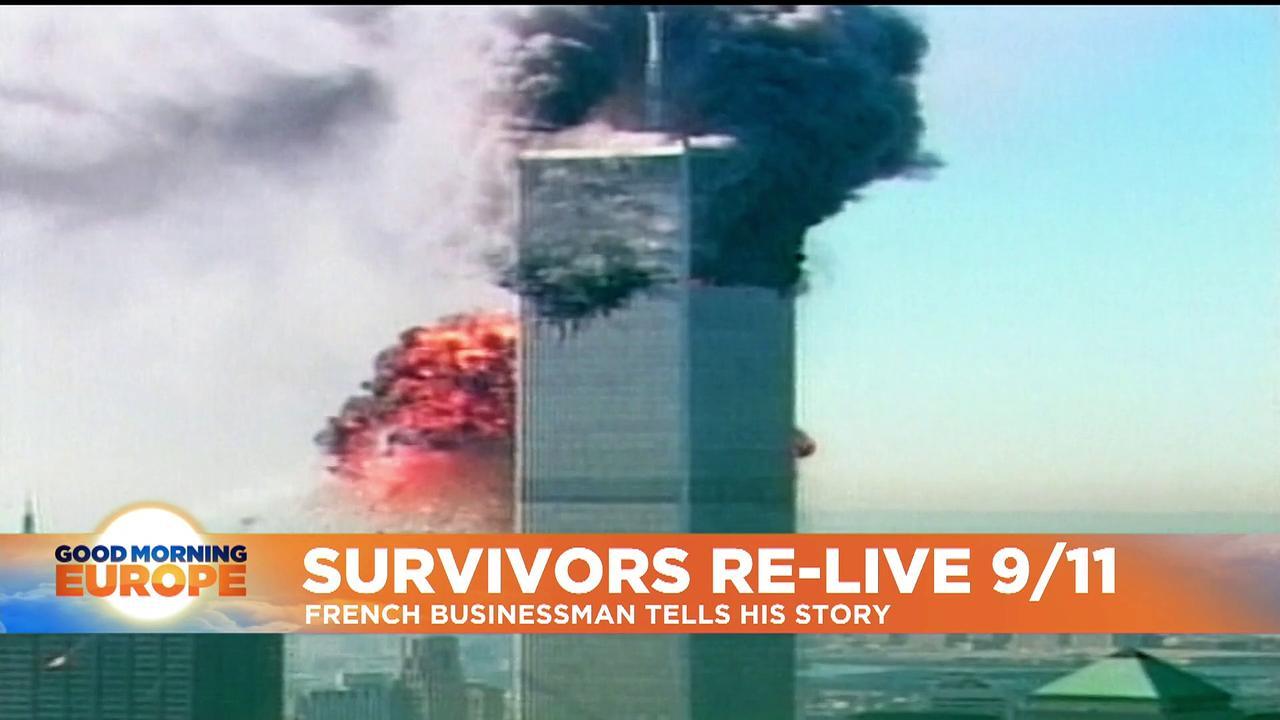 9/11: Twenty years on, Frenchman recalls surviving World Trade Center attack