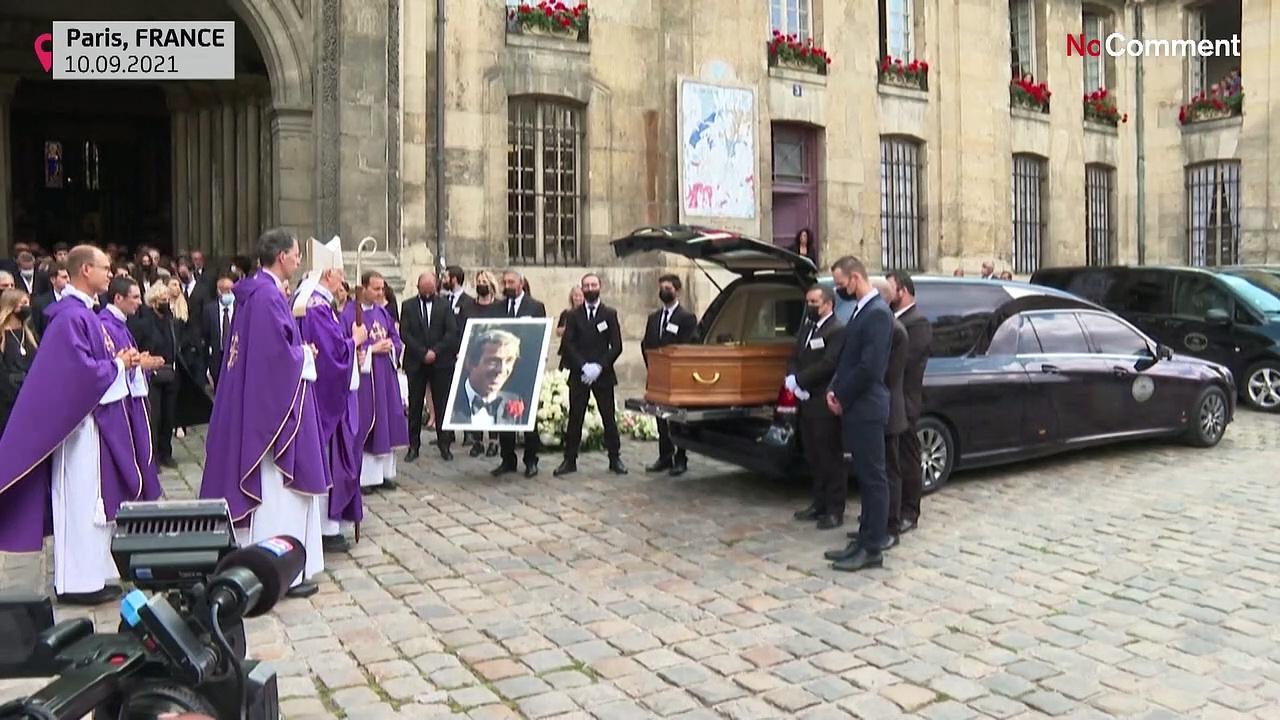 Alain Delon, Jean Dujardin among grievers bidding adieu to French film icon Jean-Paul Belmondo