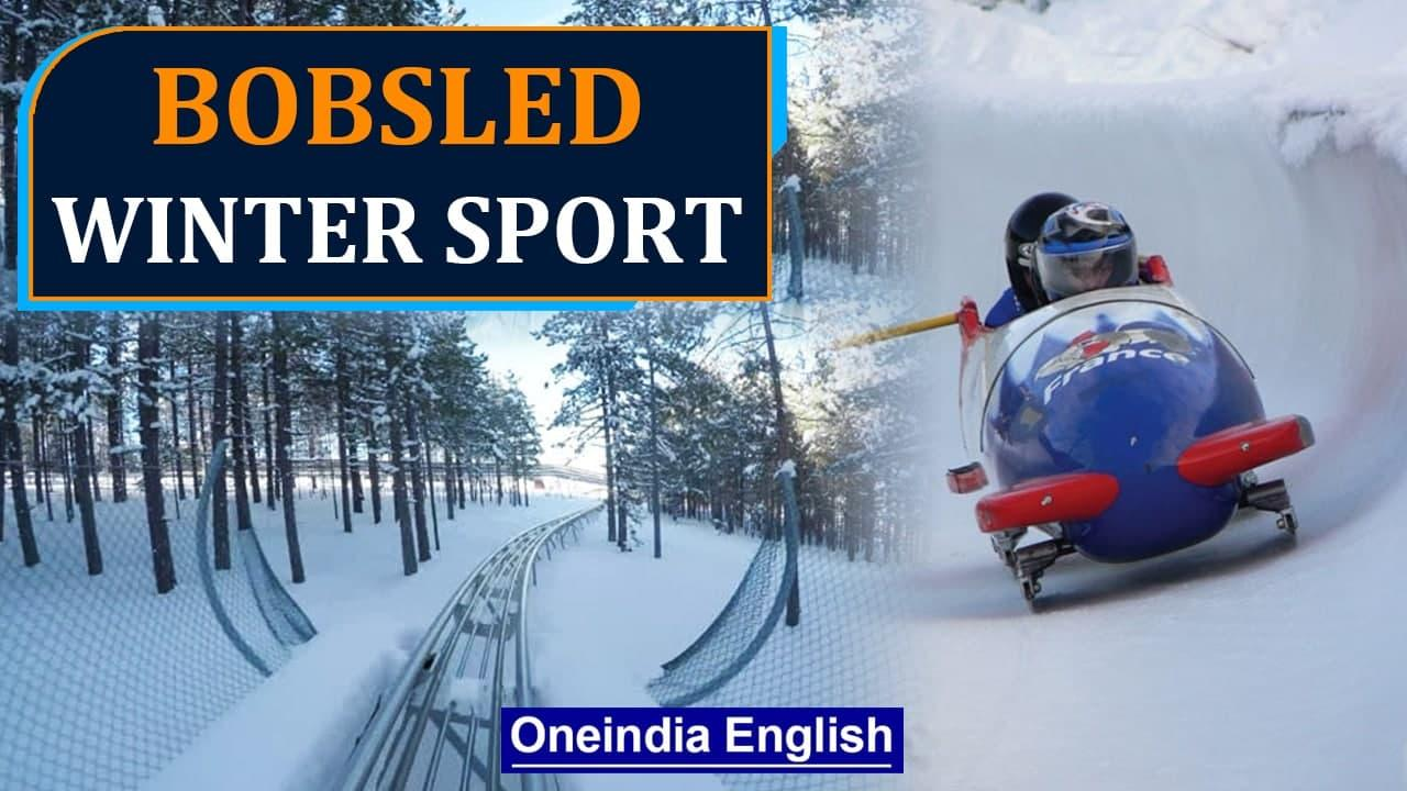 Feeling of Speed at St. Moritz natural-ice Bobsled Track   Olympic Winter Games   Oneindia News