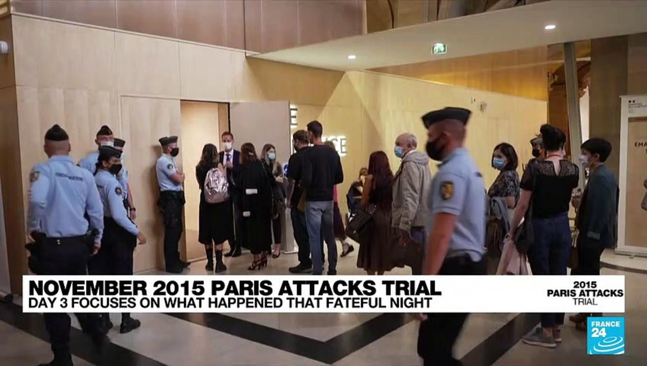 Day 3 of the Paris Terror Attacks Trial focuses on what happened that fateful night