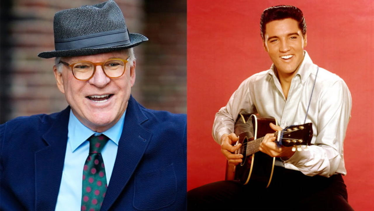 Steve Martin Shares Story of First Meeting Elvis Presley and How It Involved Three Guns   THR News