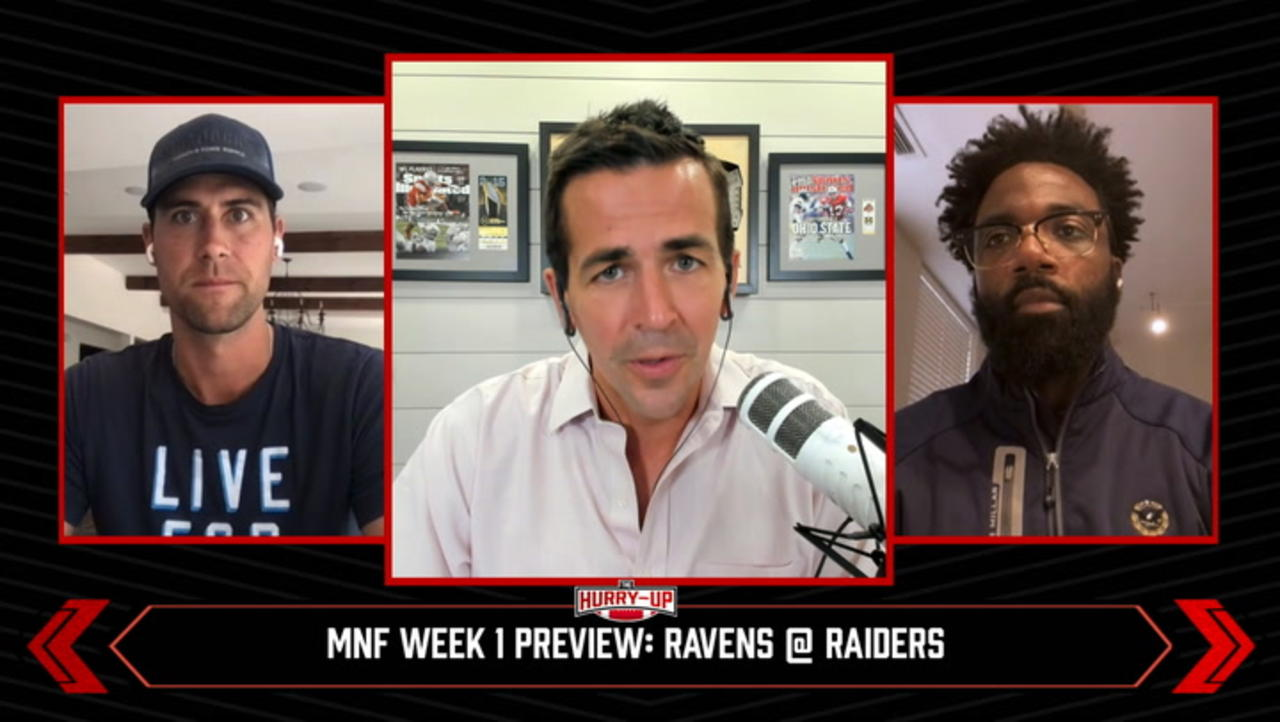 The Hurry-Up: Previewing Monday Night Football Week 1 Ravens @ Raiders