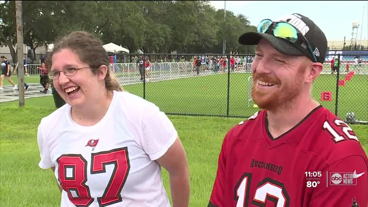 Hillsborough County principal surprised with Super Bowl 56 tickets at the NFL Experience