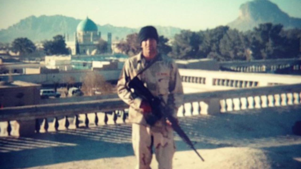 He fled from Afghanistan and returned as a US marine after 9/11. See what he left during the war