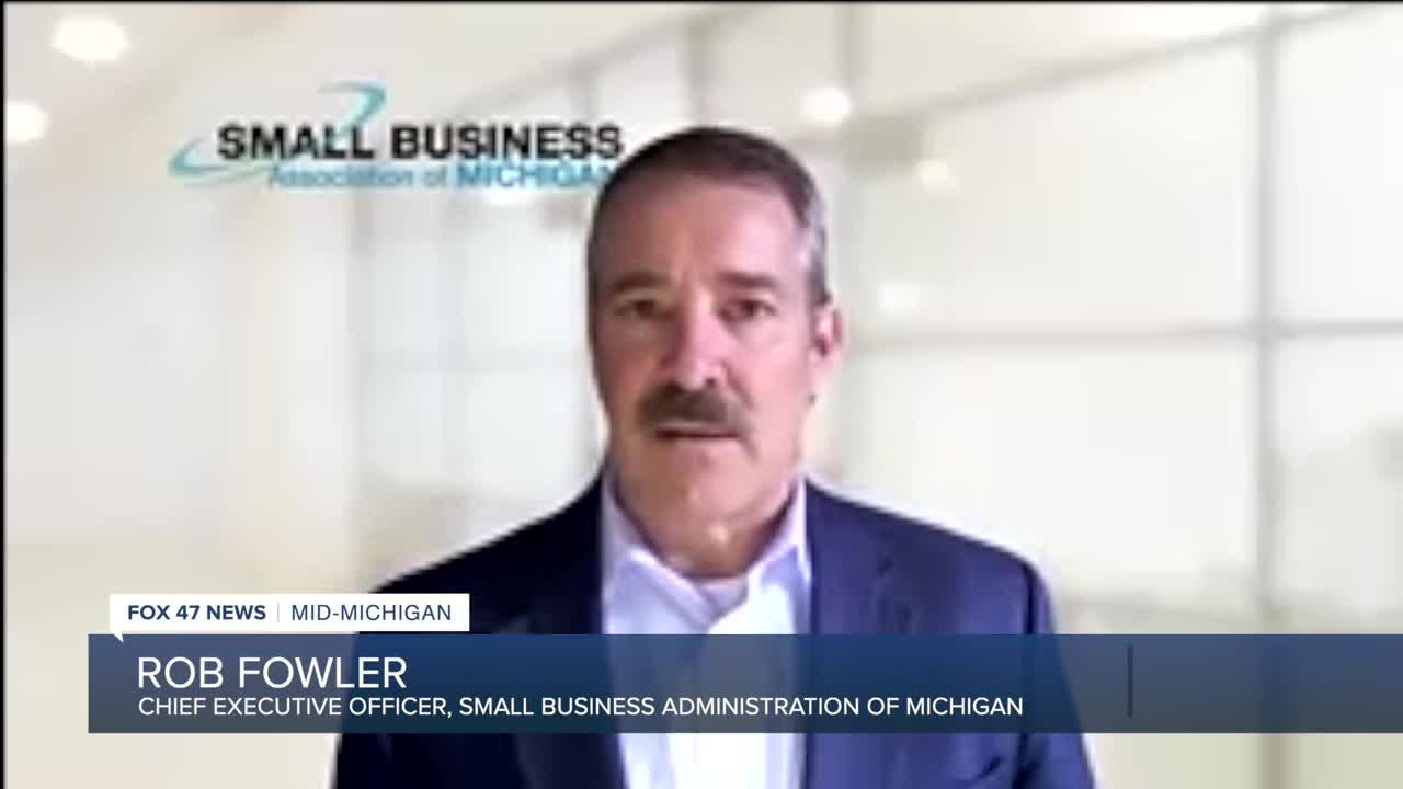 Rob Fowler, CEO, Small Business Association of Michigan