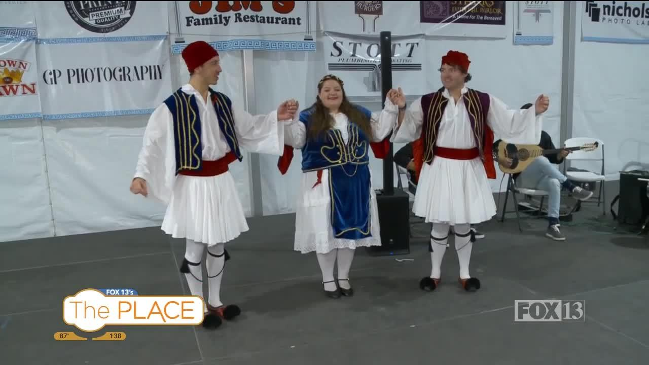 Opa!  It's time for the Greek Festival