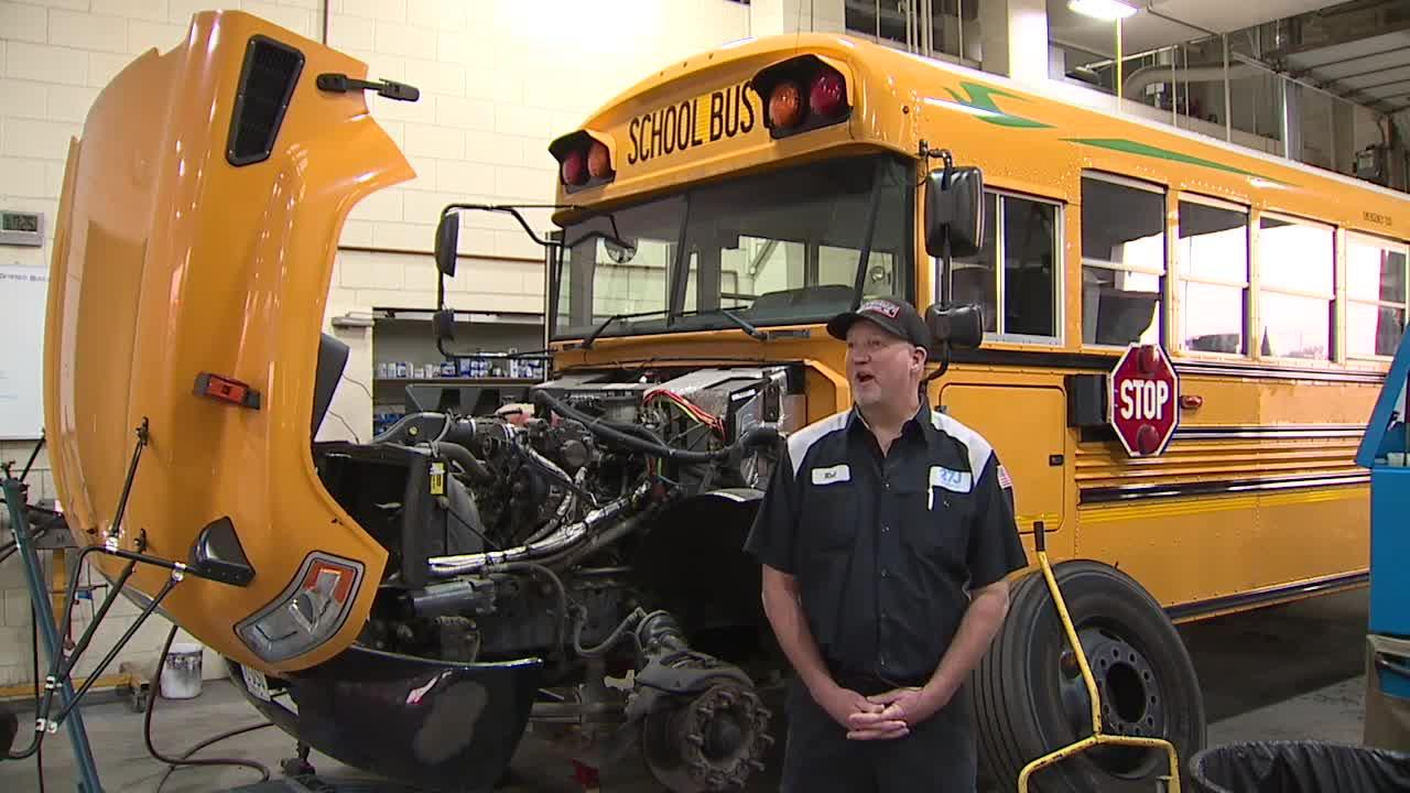 Struggle bus: How a driver shortage is hurting everyone from schools to delivery trucks