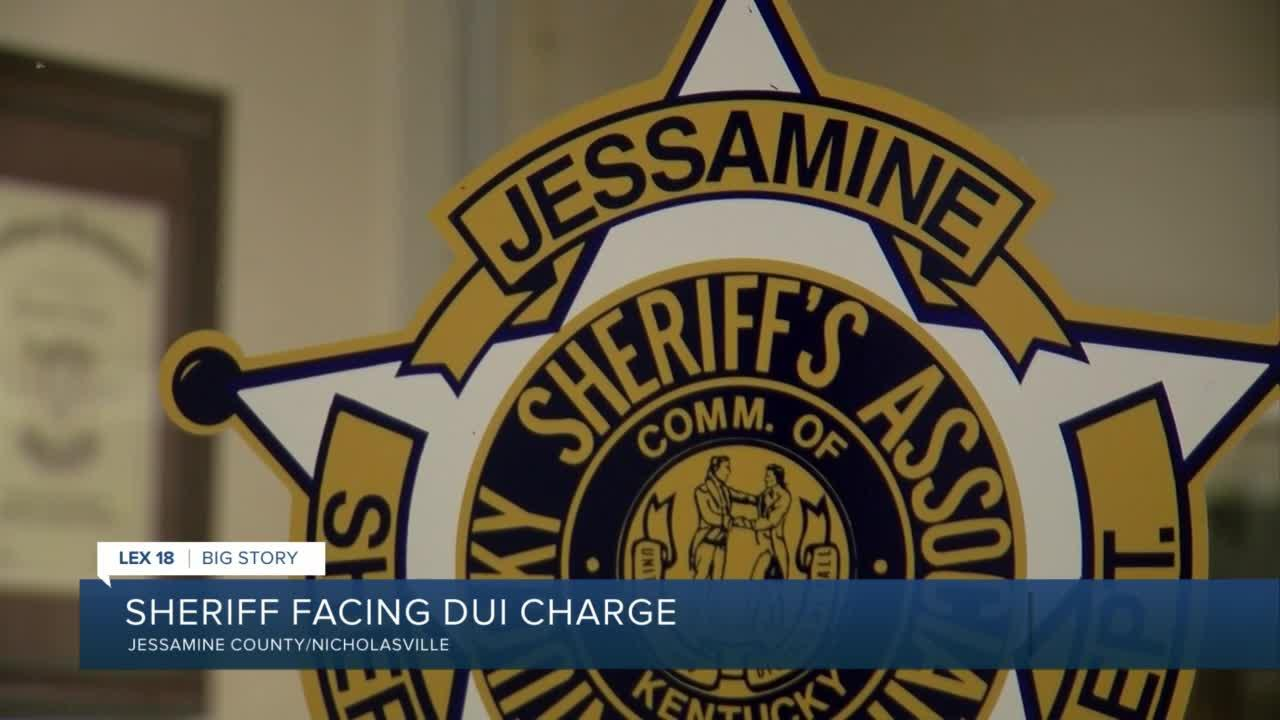 Sheriff facing DUI charge