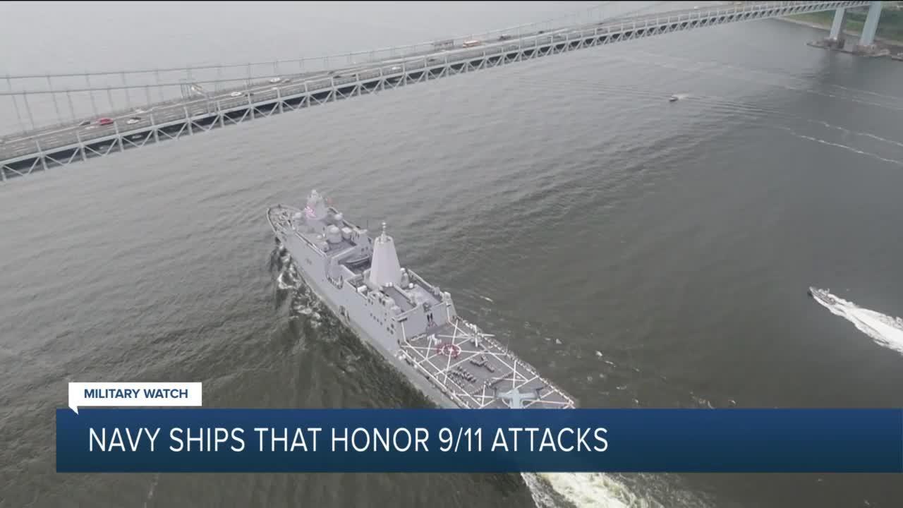 Navy ships that honor 9/11 attacks