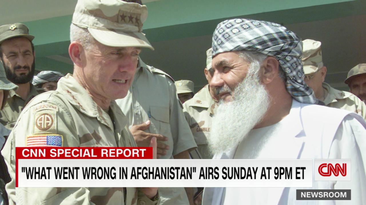 CNN's Jake Tapper's in-depth look at 'What went wrong in Afghanistan'