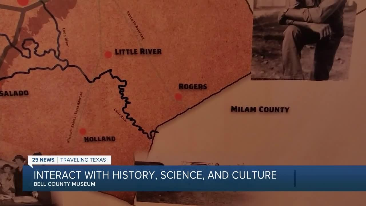 Bell County Museum: Interact with history, science, and culture