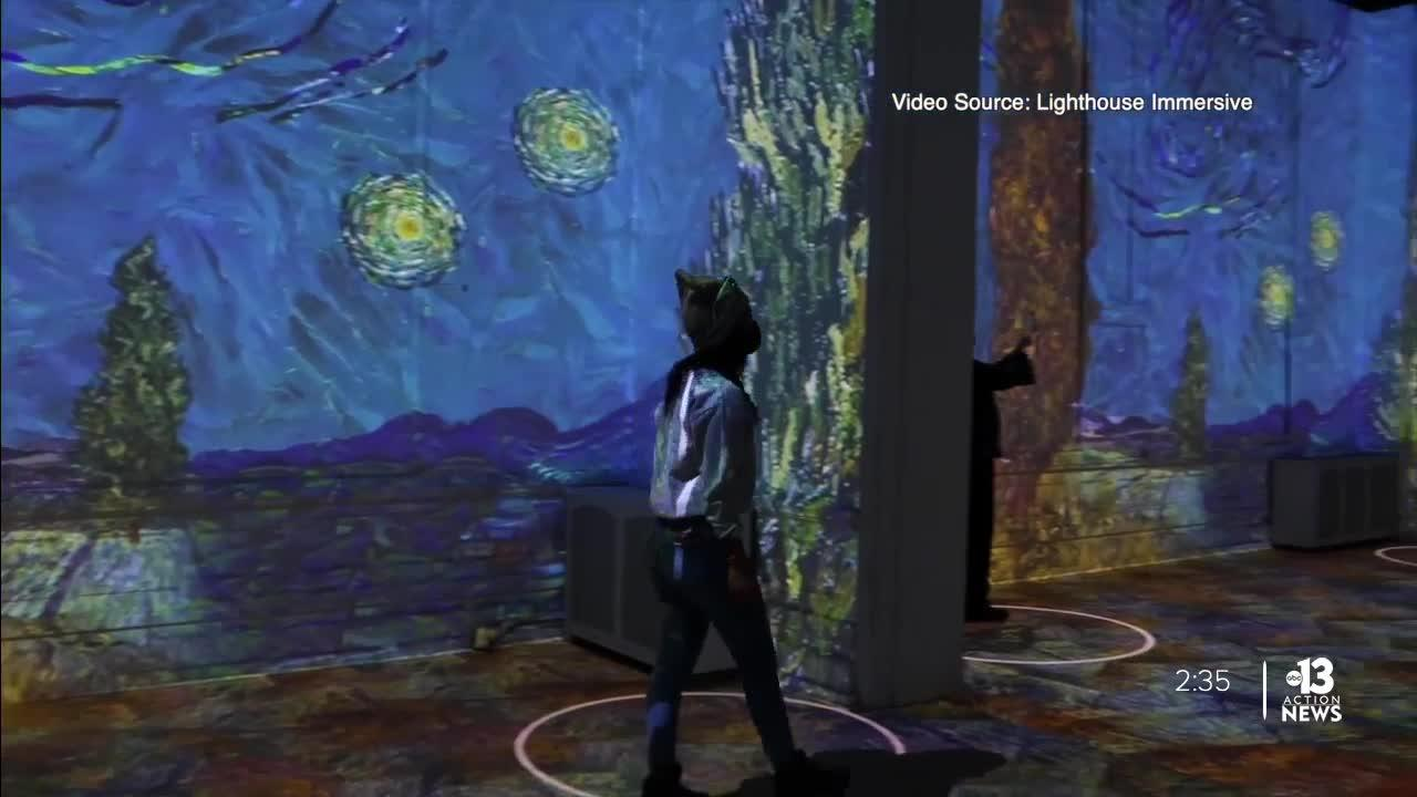 2 van Gogh experiences in Las Vegas: What's the difference?