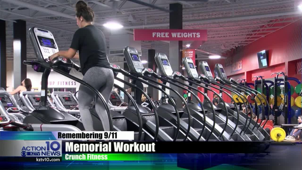 Crunch Fitness holding 9/11 memorial workout