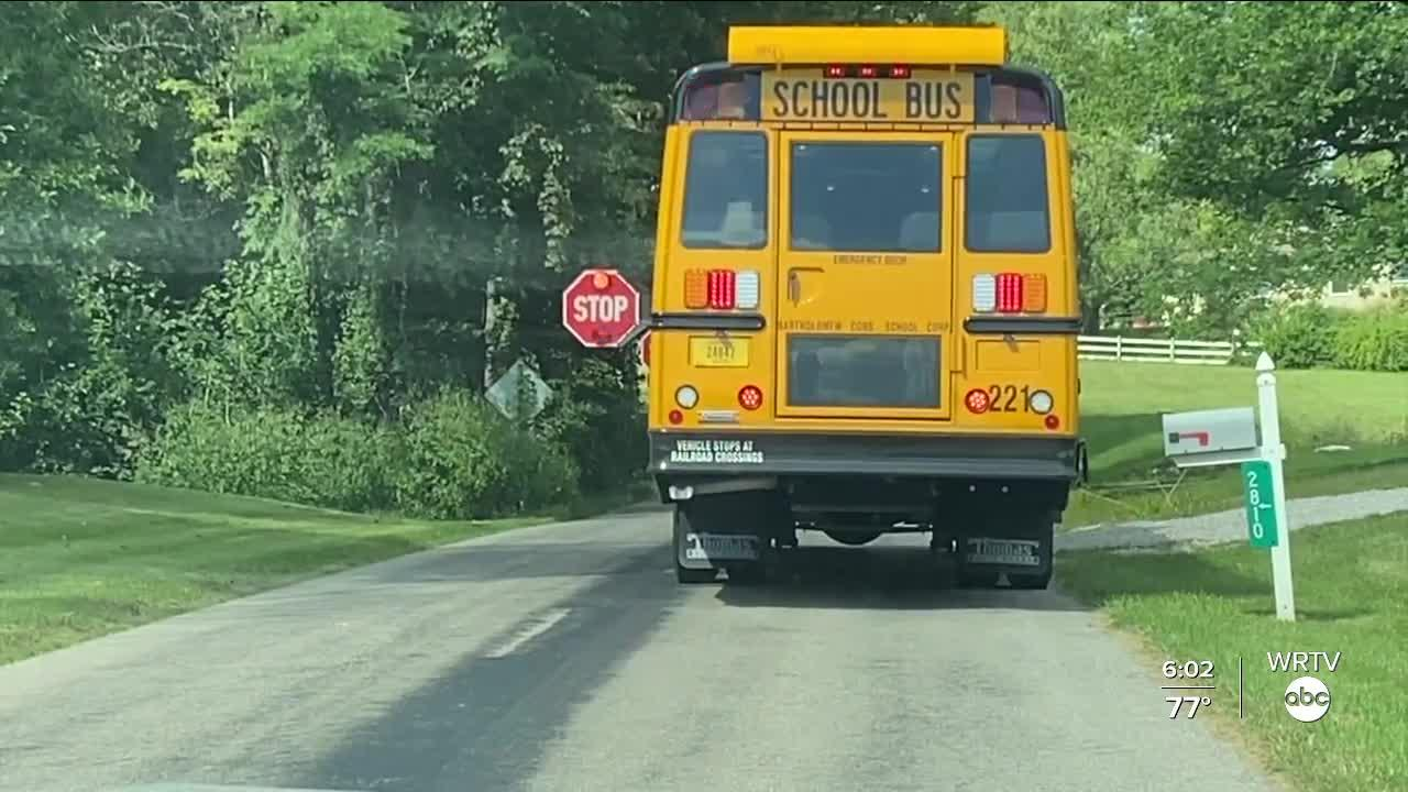 Increased bus safety patrols in Bartholomew County