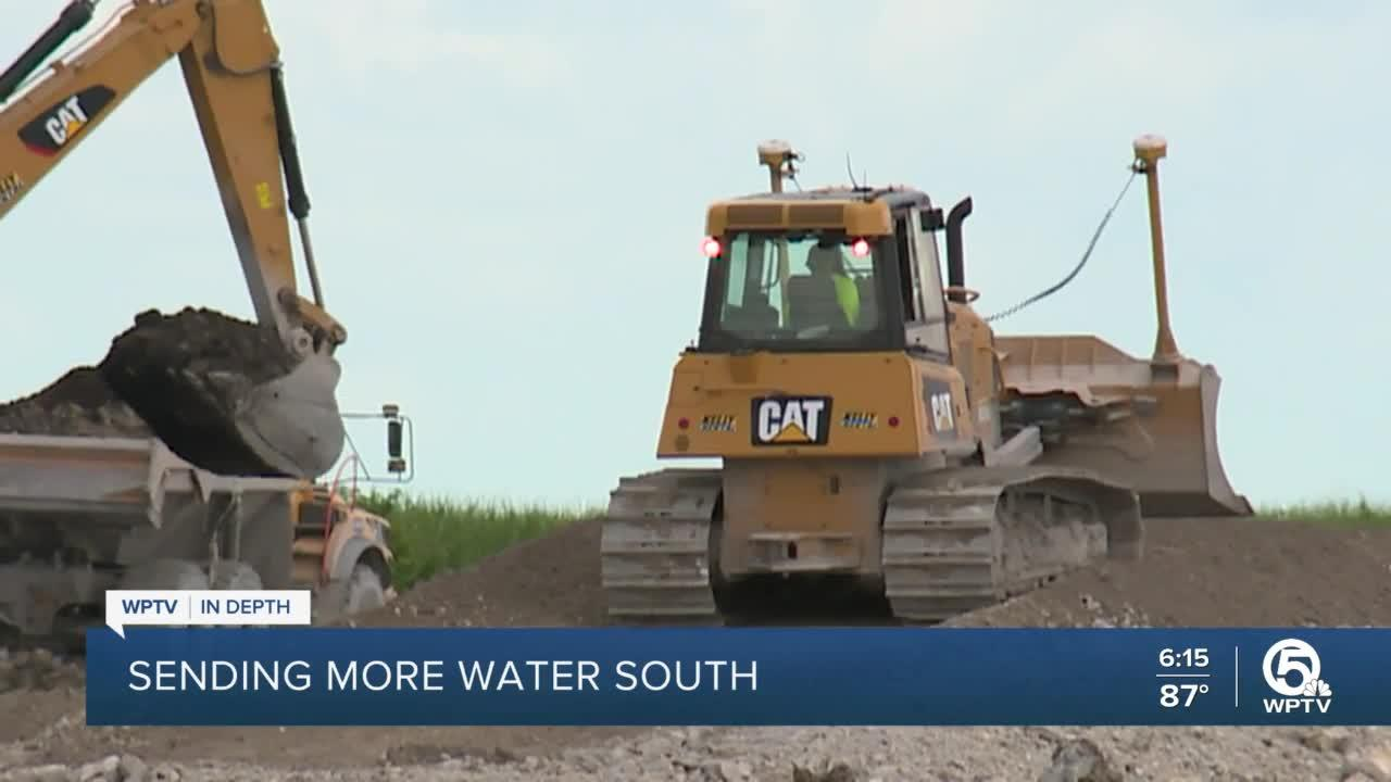 New stormwater treatment project will send more water south of Lake Okeechobee