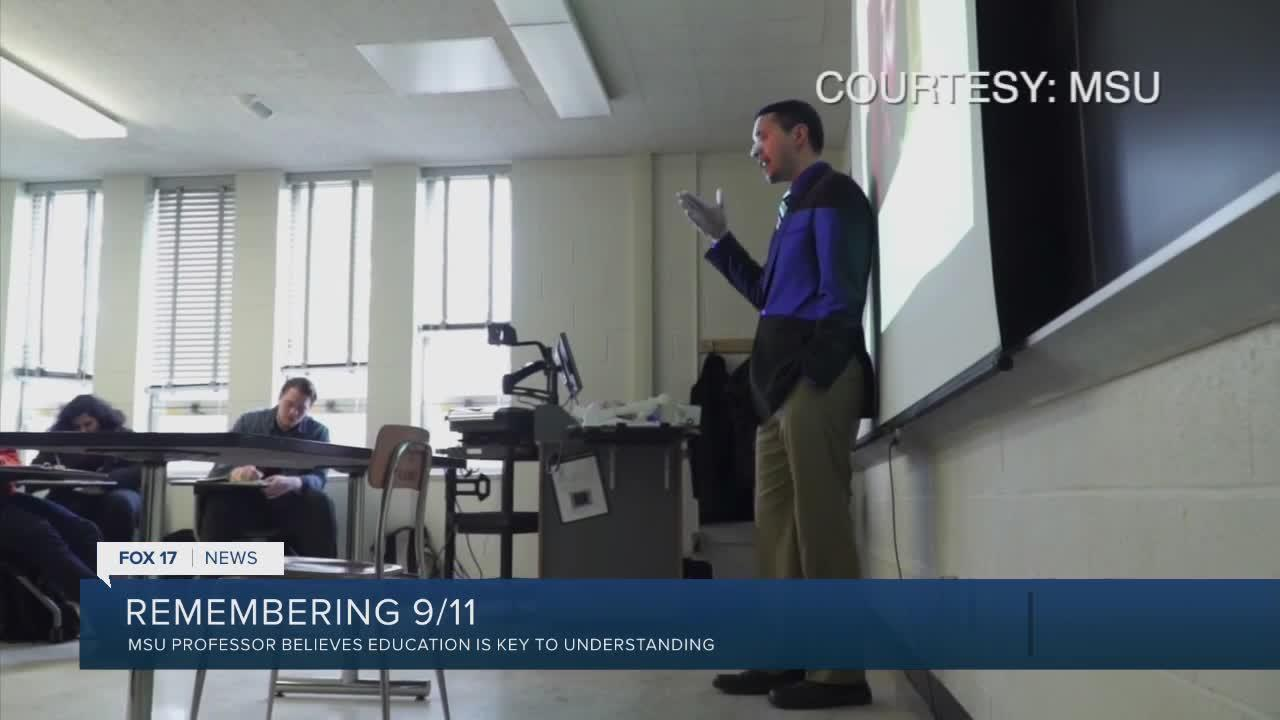 'Talk to people with different perspectives:' MSU professor believes education is key to understanding