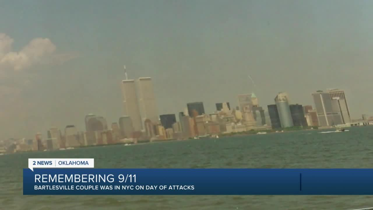 Bartlesville couple remembers being in NYC on 9/11