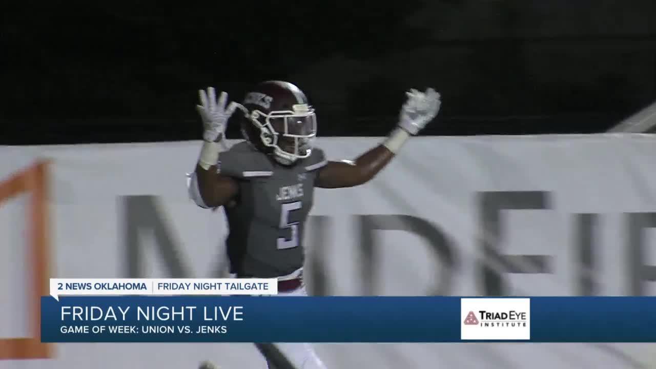 Jenks-Union, BA-Owasso highlight big night in high school football