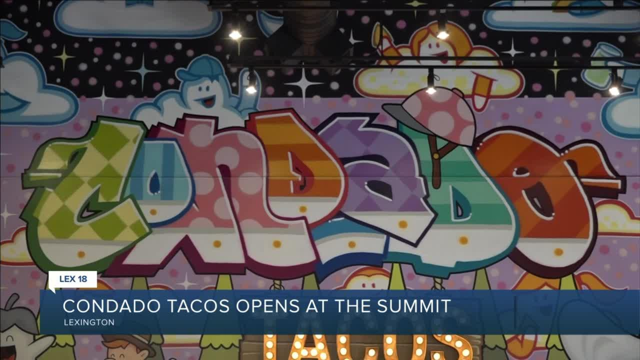 Condado Tacos opens at The Summit