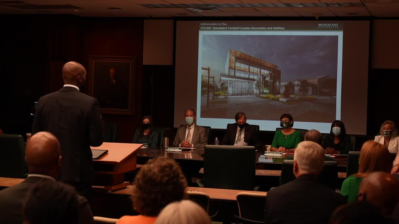MSU plans major expansion, renovation of football complex