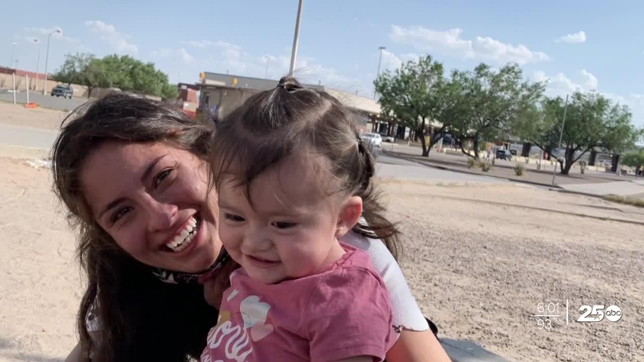 Aggie reunites with baby daughter after being barred re-entry to U.S.