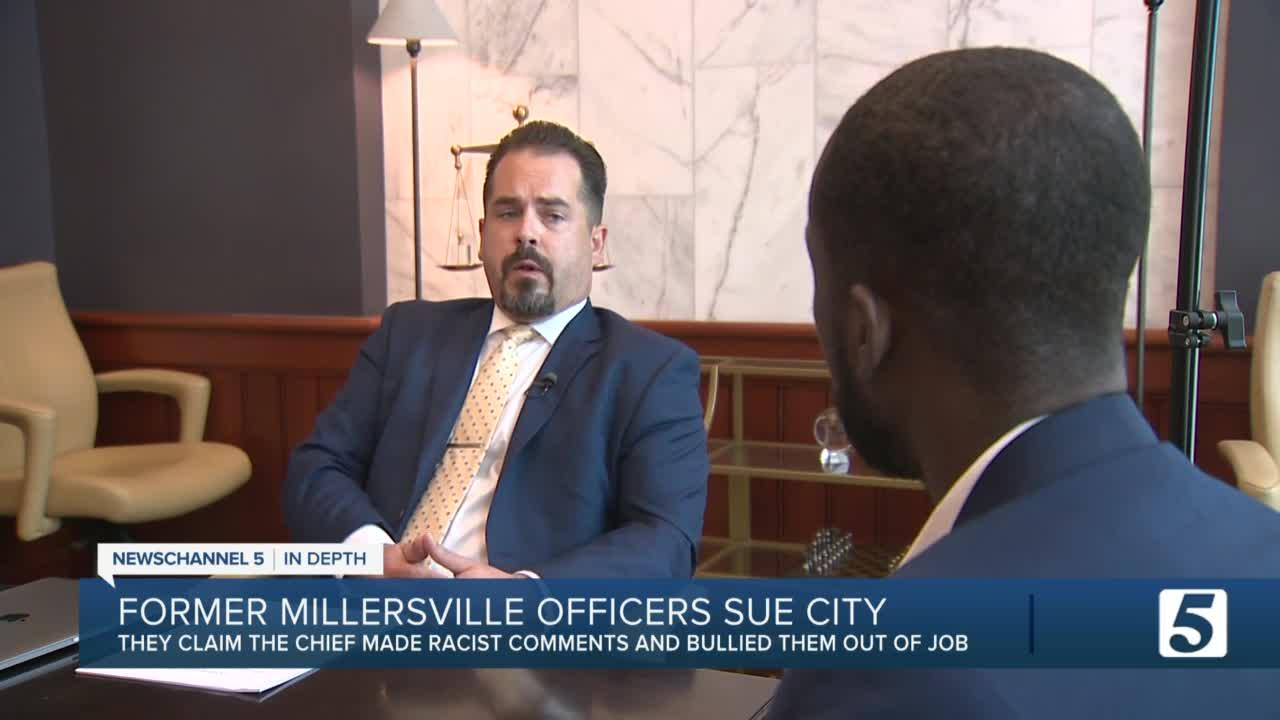 Former Millersville Police officers sue city