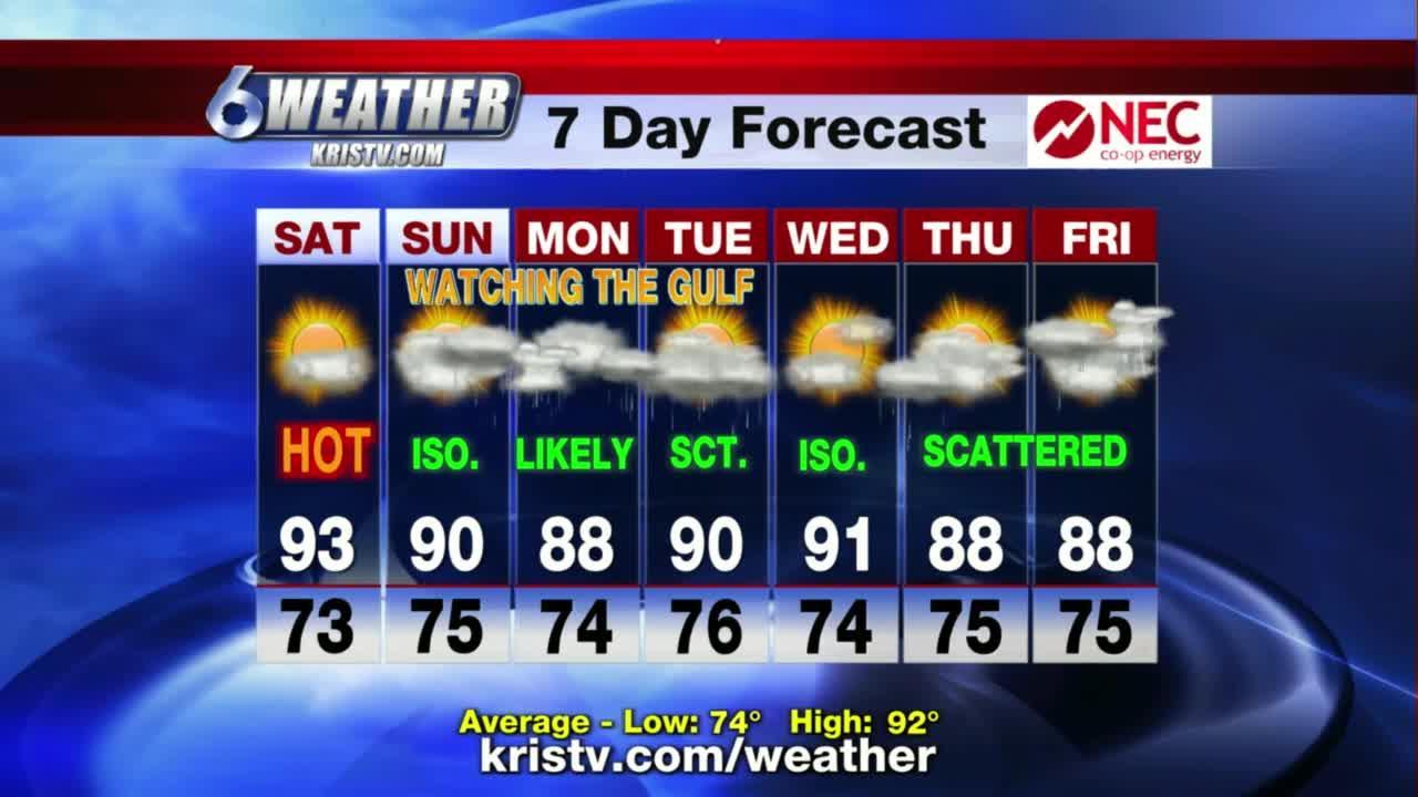 KRIS 6 News weather-forecast 09/10/2021