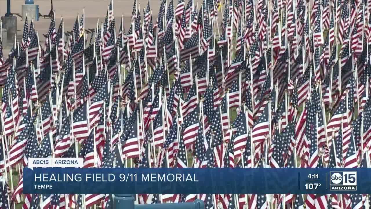 Memorial set at Tempe Healing Field honoring 9/11 victims