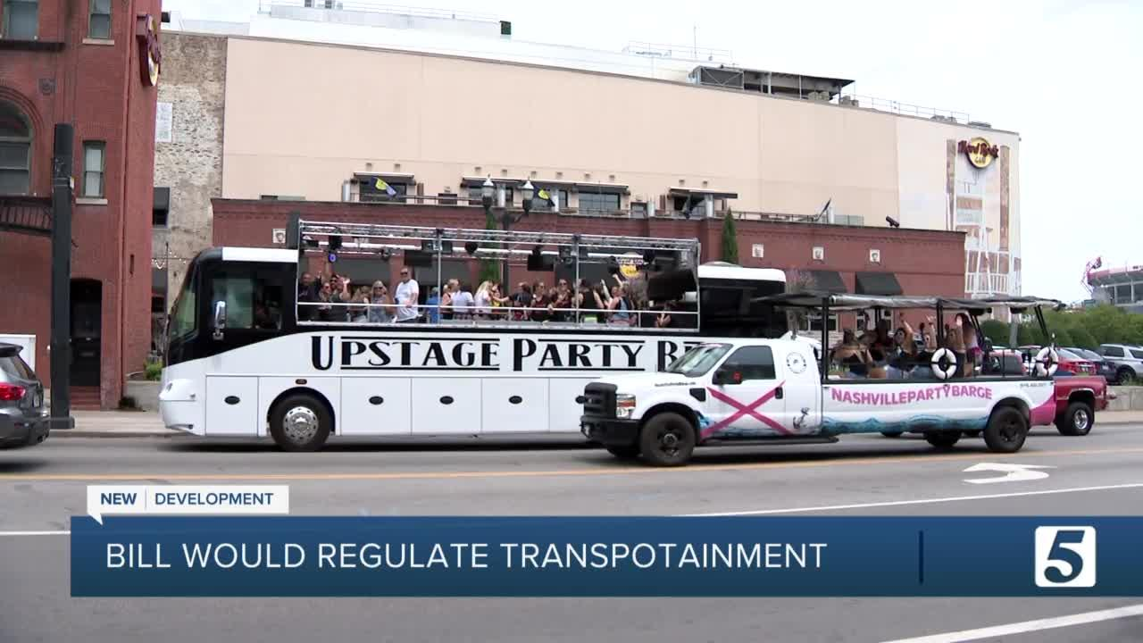 Metro Council member files bill to regulate 'transportainment' in Nashville