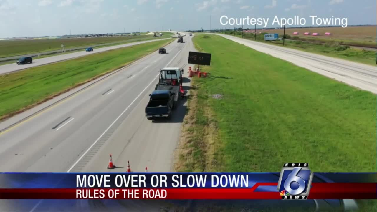 Many still breaking 'Move Over or Slow Down' law
