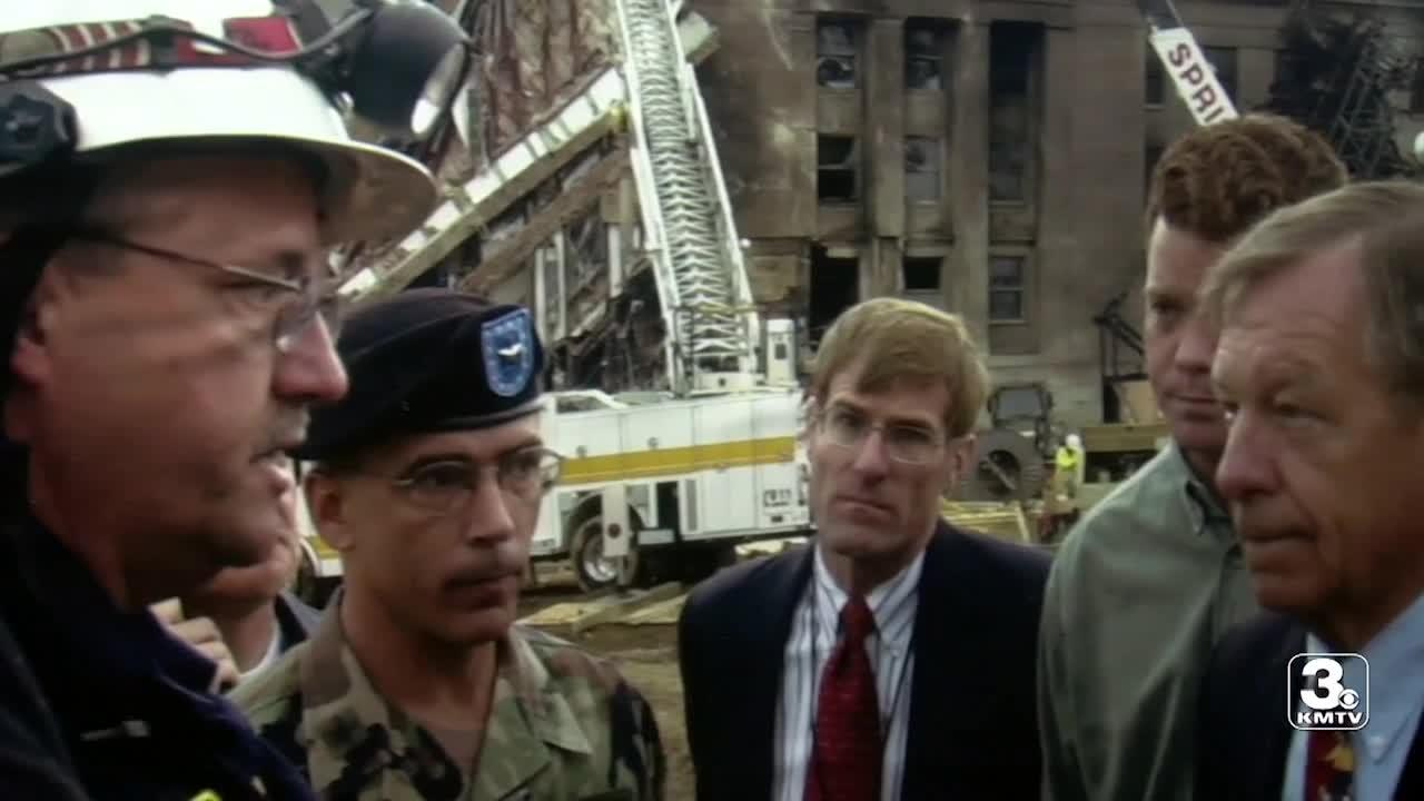 Lincoln first responder helped recover the fallen after Pentagon attack on 9/11