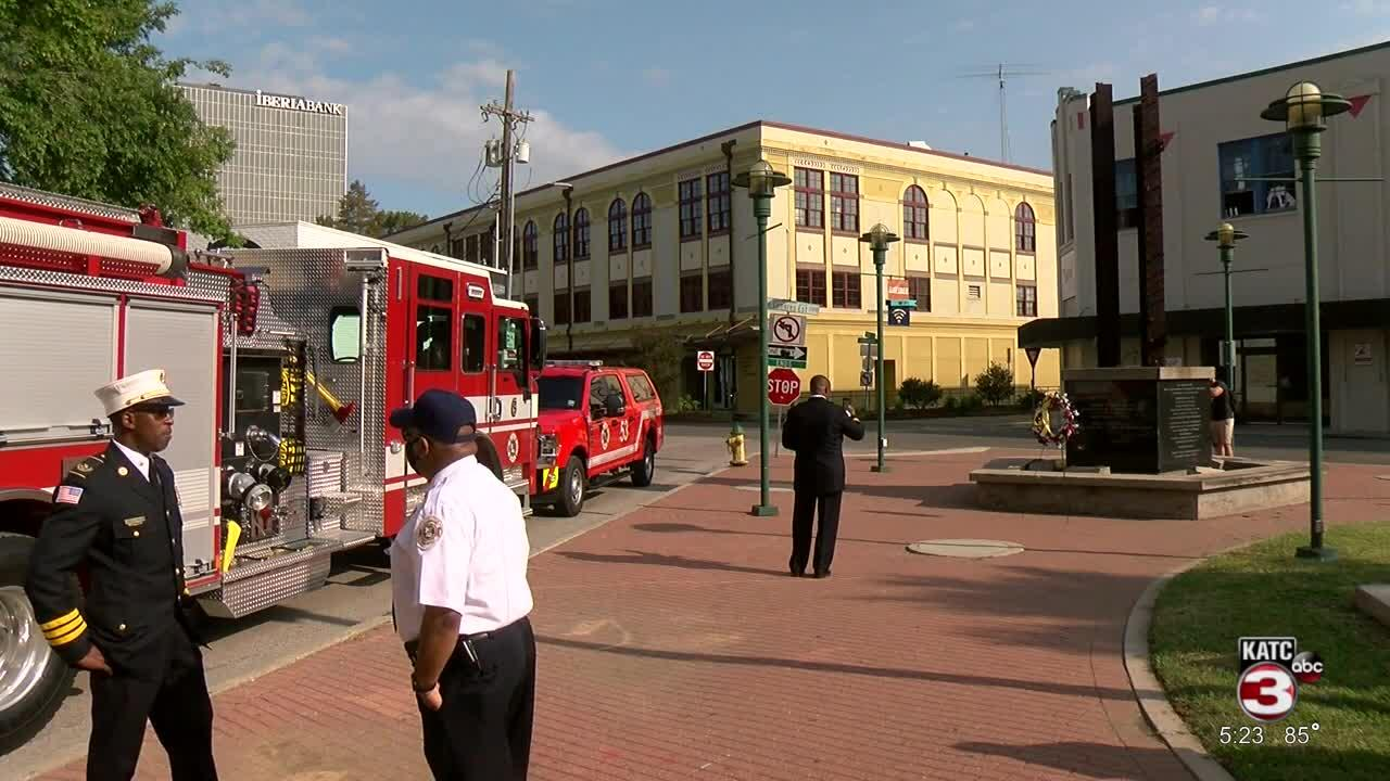 Firetruck gifted to FDNY after 9/11 travels to Lafayette for 20th anniversary of attacks