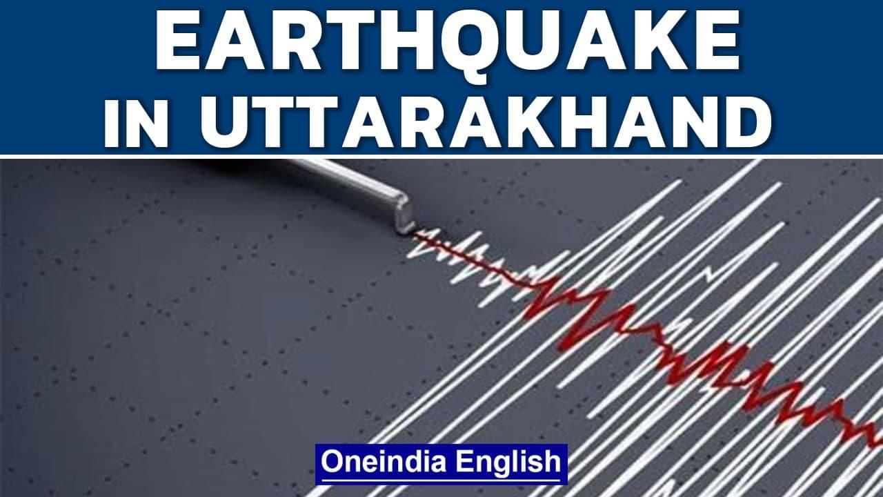 Uttarakhand earthquake: tremors shake Joshirmath, nearby areas   Oneindia News