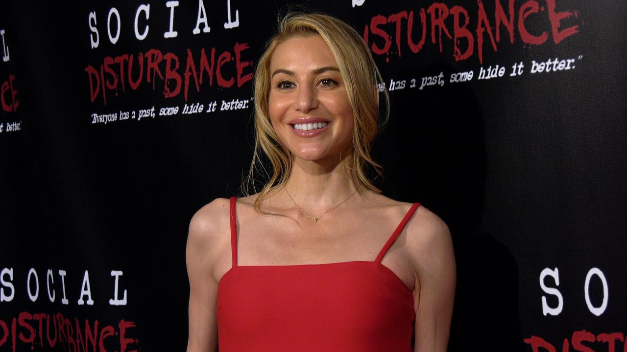 Actress Erin Michele Soto attends the 'Social Disturbance' private screening red carpet in Los Angeles