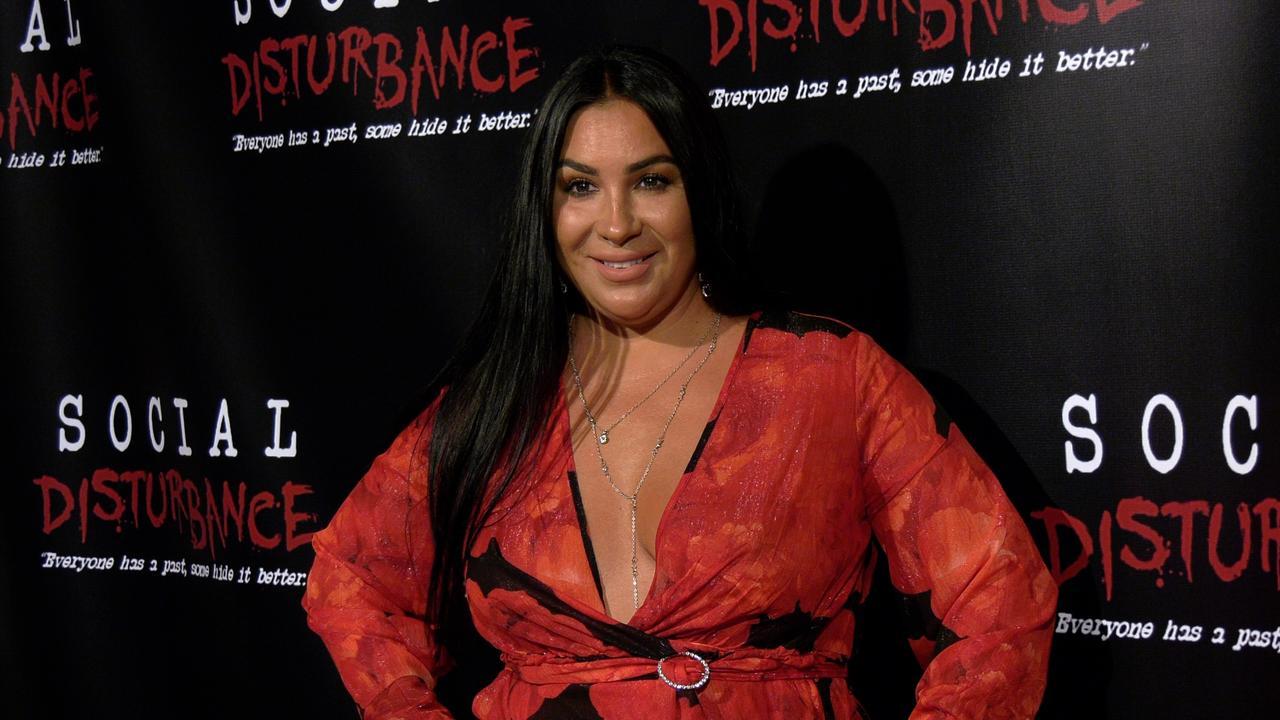 Liana Mendoza's 'Social Disturbance' Private Screening Red Carpet Cast Arrivals